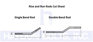 Rise and Run Rods Cut Sheet