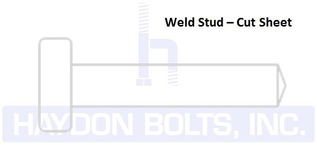 Weld Studs • Headed Concrete Weld Studs | Haydon Bolts