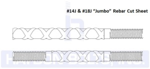 Jumbo Rebar Cut Sheet - Haydon Bolts Inc