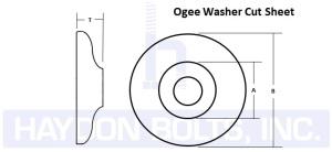 Ogee Washer - Haydon Bolts Inc